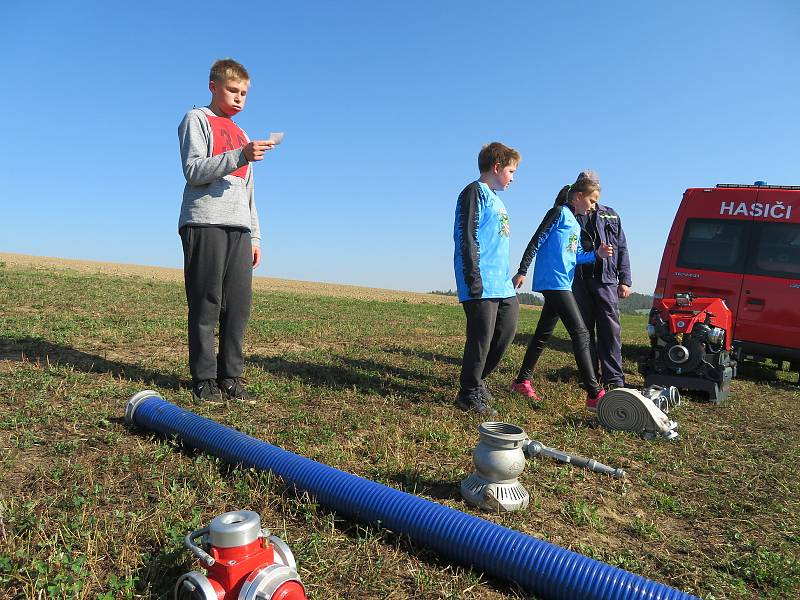 Běhu požárnické všestrannosti v Oldřichově se zúčastnilo 21 sborů dobrovolných hasičů z Táborska. Nejlépe si vedla Zhoř a Horní Střítež.