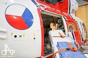 Od ledna leteckou záchranu zajišťuje armáda v Bechyni. Ministr se přesvědčil, že je připravena.