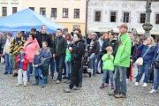 Fokus v sobotu podpořili dobrovolní dárci i kapela Peshata.