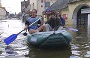 Povodně 2002 na Táborsku.