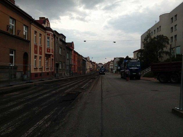 Rekonstrukce Budějovické ulice začala.