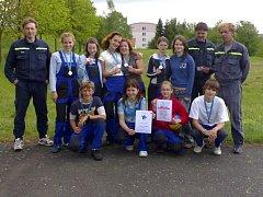 V okresním kole hasičské soutěže Plamen 2007 vybojovalo družstvo dětí 2. místo.