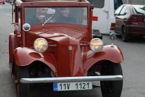V sobotu SPŠSS Tábor pořádala již 9. ročník setkání historických vozidel