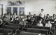 Základní škola v Plané nad Lužnicí.