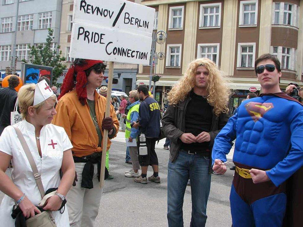 Průvod Queer Pride projde celým Starým městem
