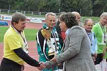 V úterý 23. září se konaly další seniorské hry na táborském Stadionu Míru.