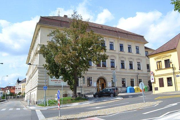 Základní škola Bernarda Bolzana v Táboře.