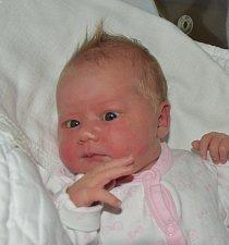 Stela Rafaj z Tábora. Narodila se 12. června ve 2.31 hodin. Vážila 3610 gramů, měřila 50 cm a  má sestřičku Lilien ( téměř 4).