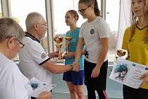 Klára Mazalová (na snímku z domácí Velké ceny v bílém) si užila chvíle na nejvyšším stupínku i v Přerově.