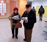 Volby v ZŠ Zborovská Tábor.