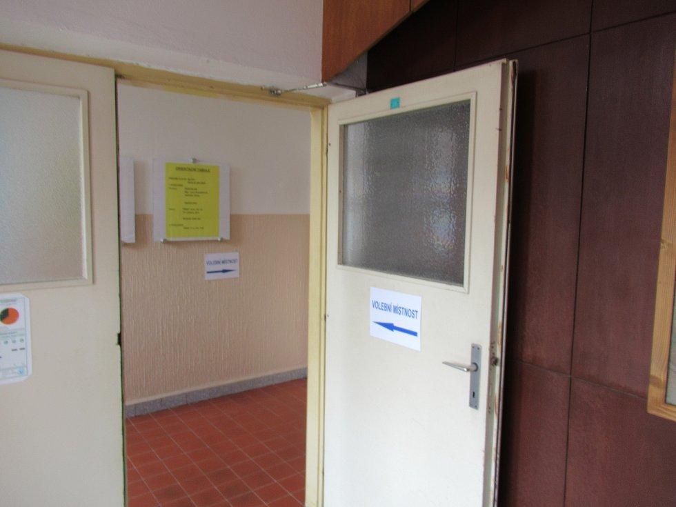 Volby v ZŠ Švehlova Sezimovo Ústí.
