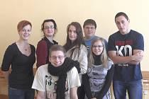 Čtvrťáci Střední zemědělská škola Tábor.