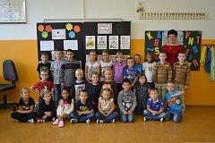 Představujeme prvňáky ze  Základní školy Helsinská-1.A