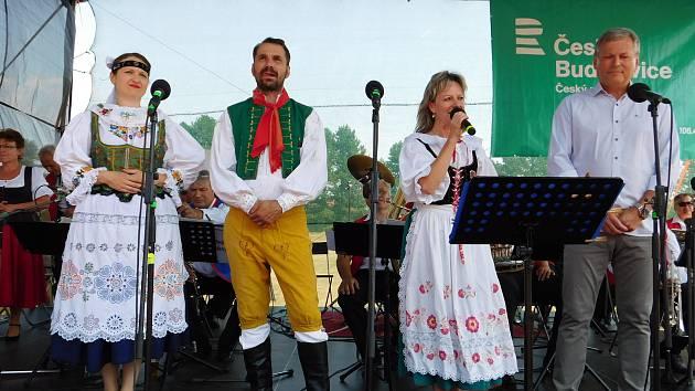Na sportovním stadionu v Písecké ulici panovala fantastická atmosféra.