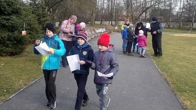 Vparku u táborského zimní ho stadionu vyvrcholil letošní ročník Dětské ligy Táborska vorientačním běhu.
