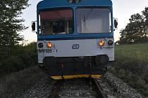 Kvůli opilci musel zastavit vlak z Prahy v Táboře.
