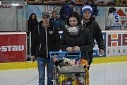 Charitativní akce HC Tábor na podporu malého Martínka a jeho tety.