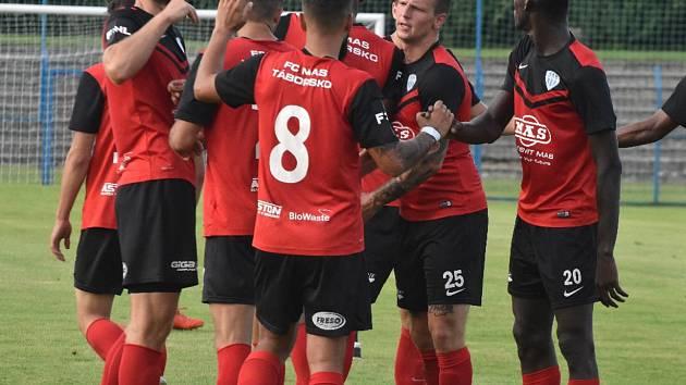 Fotbalisté FC MAS Táborsko.