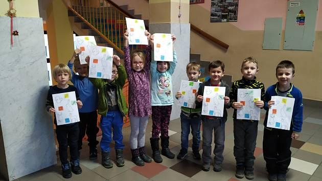 Děti z Klubu předškoláků se poprvé setkaly v novém roce.