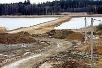 Přemostění rybníka Koberný v Plané nad Lužnicí