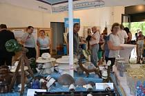 Zahájení táborské výstavy věnované elektrifikaci.