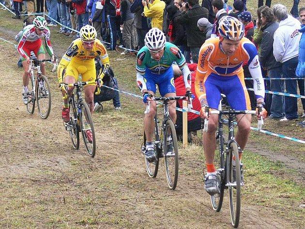 SVĚTOVÝ POHÁR. V Táboře vyhrál druhý závod Světového poháru Belgičan Sven Nijs.