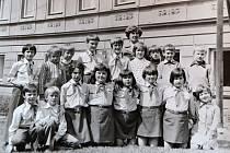 Pionýři ze základní školy v Želči.