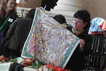 Ludmila Brožová přišla v sobotu podpořit hospic Jordán na bleší trh.