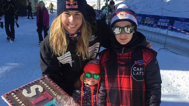 Setkání s českou snowboardistkou byl pro fanoušky z Tábora zážitek.