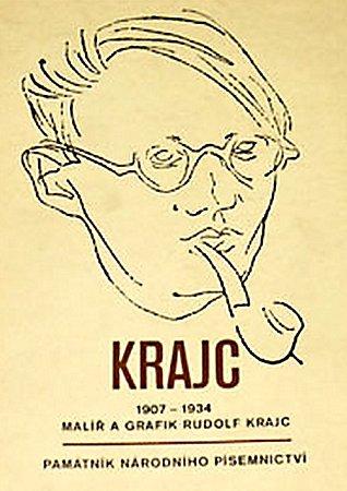 MONOGRAFIE. Vroce 1970vydal Památník národního písemnictví dvacetistránkovou monografii oRudolfu Krajcovi.