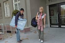 KOLEJE NESTAČÍ. Během akademického roku jsou všechna lůžka na vysokoškolských kolejích Jihočeské univerzity obsazena. Mnozí studenti se musejí o ubytování postarat sami.