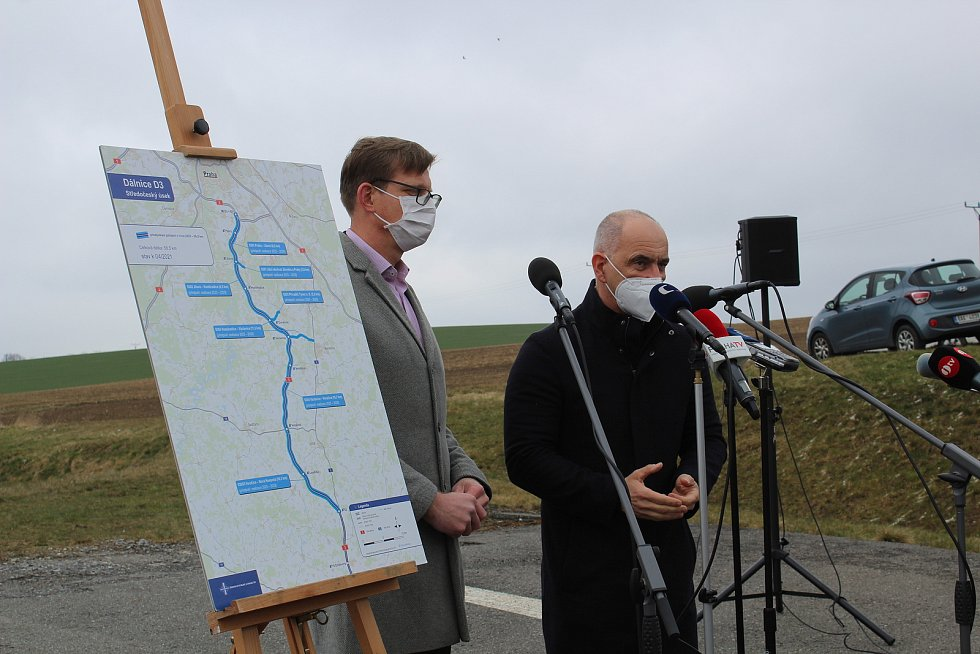 Kraje chtějí uspíšit dostavbu dálnice D3.
