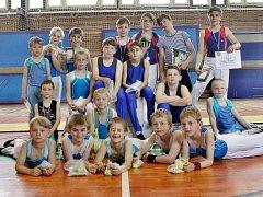 Úspěšní mladí závodníci Spartaku MAS Sezimovo Ústí.