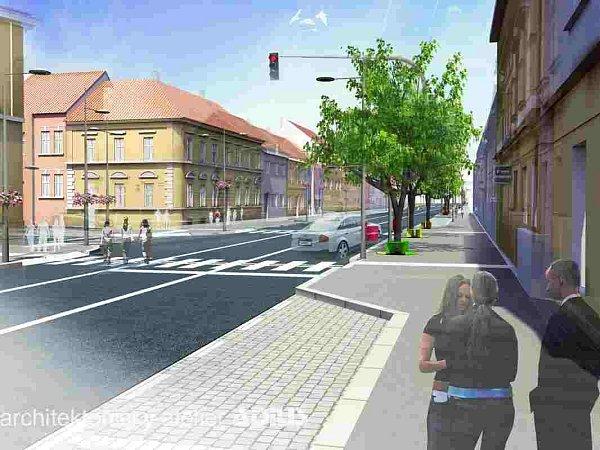 Nová podoba Budějovické ulice vTáboře.