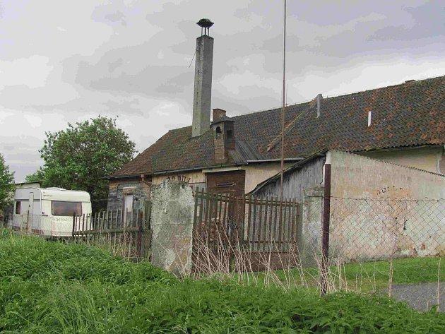 Bývalá jatka vBechyni.