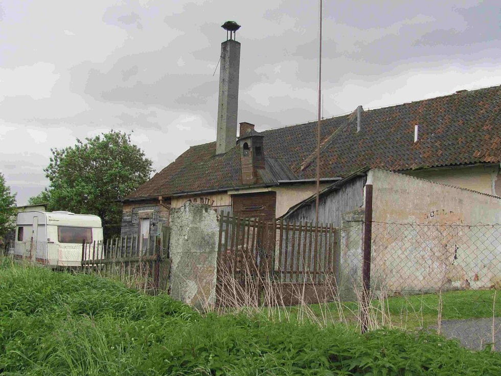 Bývalá jatka v Bechyni.