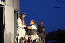 Divadlo Kašpar hrálo v Lomu Othella.