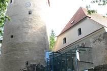 Knihovna v Soběslavském hradu