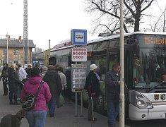 Autobusové nádraží. Ilustrační foto.