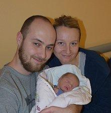 Tadeáš Holub z Drachkova. Narodil se 14. března ve 22.07 hodin.Vážil 3010 gramů a je prvním dítětem rodičů Kateřiny a Jakuba.