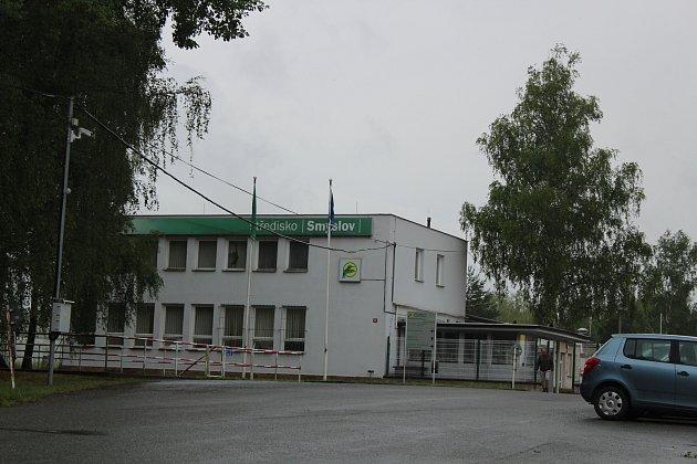 Sklad pohonných hmot v Táboře Smyslově.