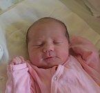 Ela Podlahová ze Soběslavi. Přišla na svět jako prvorozená dcera rodičů Moniky a Libora 25. dubna v 9.54 hodin. Její váha byla  3210 gramů a míra 48 cm.