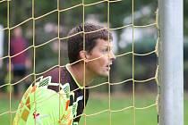 K podzimnímu prvenství FK Olympie Měšice ve IV. třídě přispěl spolehlivými výkony brankář Vít Jiran.