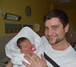 Melissa Nápravníková ze Želče. Na svět přišla 19. března v 16.50 hodin jako prvorozená dcera rodičů Evy a Lukáše. Po porodu vážila 3020 gramů a měřila 49 cm.