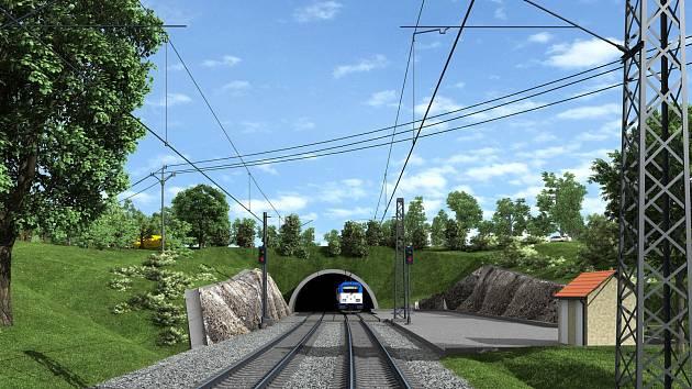 Zvěrotický tunel (vizualizace).