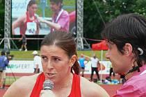 Nejočekávanější persona šampionátu, suverénka letošní světové čtvrtky Zuzana Hejnová, se v Táboře představila na poloviční trati.