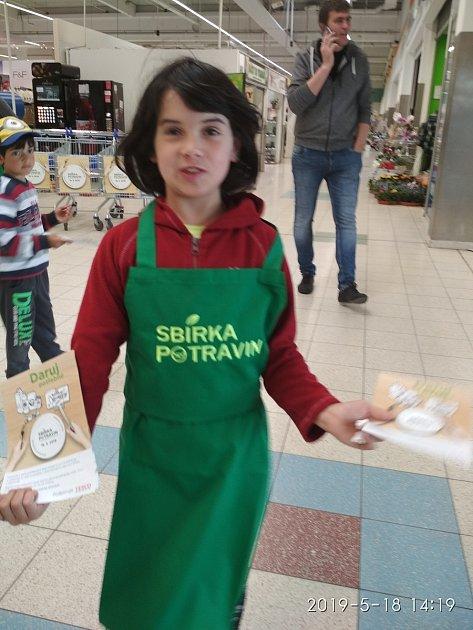 Vsobotu 23.listopadu mohou přispět lidé do potravinové sbírky ivTáboře.