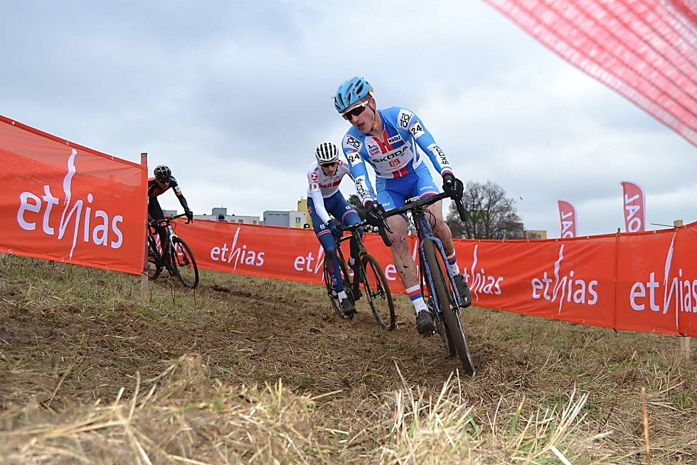 Závod Světového poháru cyklokrosařů v Táboře.