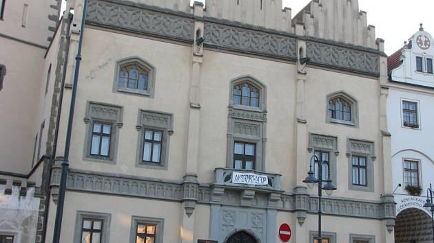 Budova Staré radnice v Táboře.
