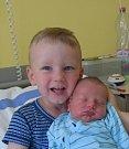 Mikuláš Janů z Nové Vsi u Chýnova. Narodil se 1. června ve 23.03 hodin. Vážil 3000 gramů, měřil 48 cm a už má brášku Tomáška, které mu  je dva a půl roku.